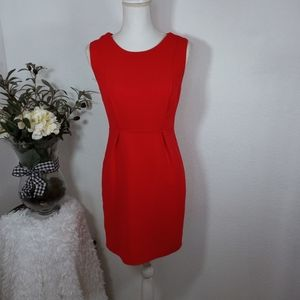 FOREVER 21 RED DRESS SZ.XS EUC